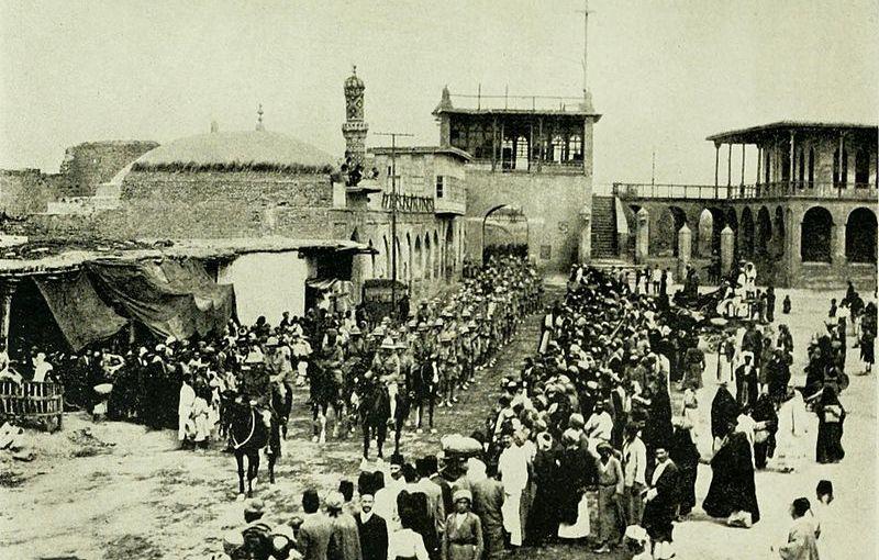 دخول القوات البريطانية في بغداد